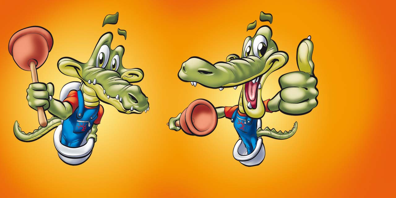 alligator, crocodile, toilet, sewer, sewers, mascot, animal, cleaner